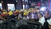 Cumhurbaşkanı Abdullah Gül Zonguldak Kozlu Madencileri Ziyareti