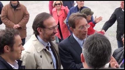 Il Viceministro alle infrastrutture e ai trasporti visita l'Aeroporto dei Parchi