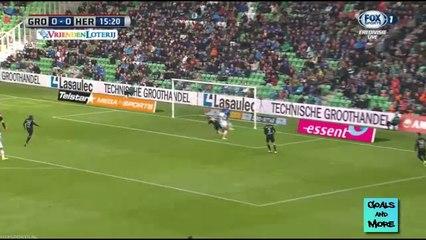 Гол Рицхайро Живкович · Гронинген (Гронинген) - Хераклес (Алмело) - 1:0