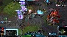 [Alc109] Découverte Heroes 3 - Match en Coop sur Dragon Shire (Heroes of the Storm - FR)