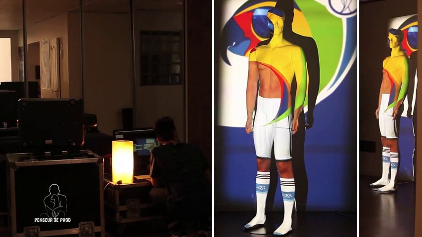 MAPPING MANNEQUIN OU HUMAN MAPPING VIDEO