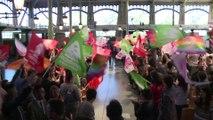 Rassemblement des Jeunes socialistes européens au Pavillon Baltard