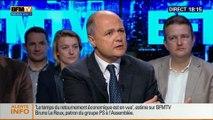 BFM Politique: L'interview de Bruno Le Roux par Apolline de Malherbe - 04/05 1/7