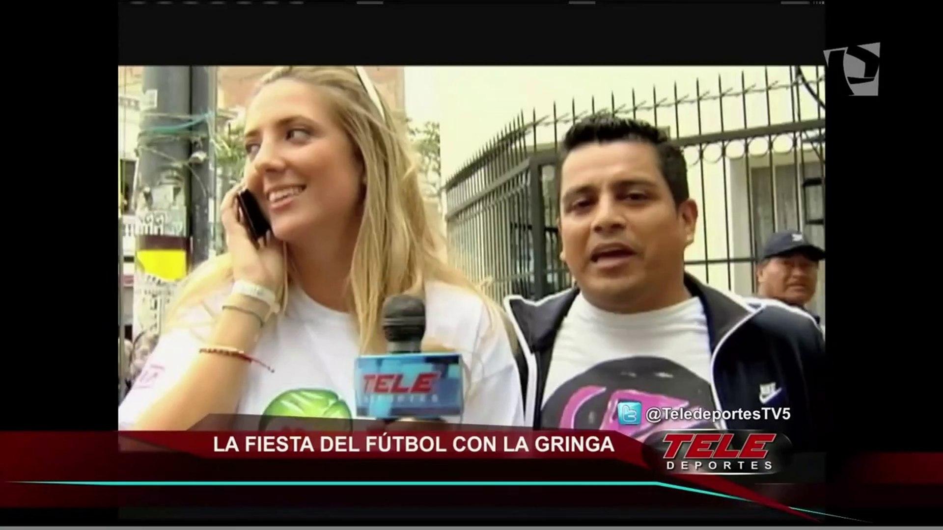 El triunfo de Alianza Lima y la fiesta del fútbol con la 'gringa' Boloña (1/2)