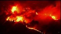 Gigantesque incendie de forêt aux États-Unis