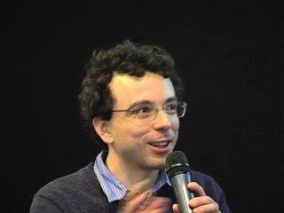 Damien Luce, écrivain, pianiste et comédien