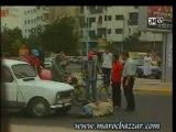 Accident faux humour maroc fou camera