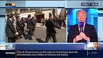19H Ruth Elkrief: Brice Hortefeux réagit à l'interview de François Hollande qui aura lieu ce mardi 6 mai sur RMC et BFMTV - 05/05