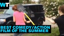 Girl Gets Hit With Shovel During Fight | What's Trending Now