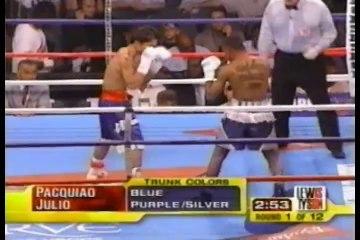 Manny Pacquiao vs Jorge Eliecer Julio