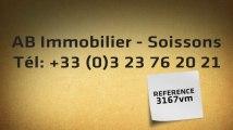 A vendre - maison - SOISSONS (02200) - 4 pièces - 60m²