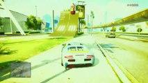 GTA 5 STUNTS - TOP 5 STUNTS IN GTA 5 ONLINE - EPISODE 8 - (GTA 5 FUNNY MOMENTS)