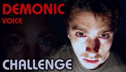 MONSTER VOICE CHALLENGE (Inverse Speaking)  Do it!