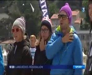 France 3 Languedoc-Roussillon 30/04 - Reportage sur le Mondial du Vent 2014