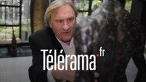Gérard Depardieu : Visite guidée dans sa collection d'art