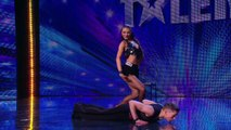 Britain's Got Talent 2013 - 058 - Week 2 Auditions - AJ And Chloe Drop Jaws With Their Dancing