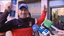 Locura en el Calderón para conseguir las primeras entradas para la final de Lisboa
