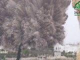 Enorme explosion dans le ciel syrien