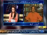 Aaj With Reham Khan (5th May 2014) Imran Khan Announces to Boycott Geo Jang Group..!!