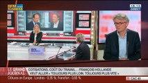 Jean-Claude Mailly, secrétaire général de Force Ouvrière, dans Le Grand Journal - 06/05 1/4