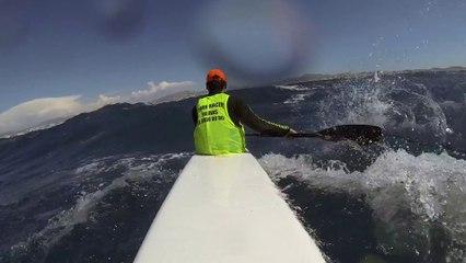 Downwind Surfski
