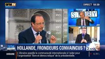 BFM Story: François Hollande a-t-il convaincu les députés frondeurs du PS ? - 06/05