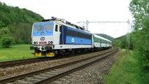 Lokomotiva 363 160-3 - Brandýs nad Orlicí, 6.5.2014 HD