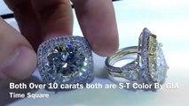 10 Carat Diamond And 5 Carat Diamond