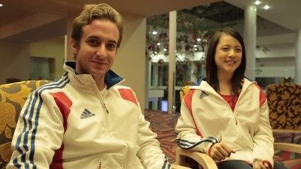 Rencontre avec Damien Todeschini et Delphine Tran, médaillés d'or taiji classique 2014 EWUF