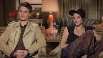 Shailene Woodley and Ansel Elgort Interview - 'The Fault In Our Stars'