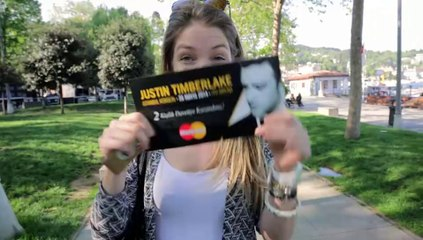 MasterCard'la #PahaBiçilemezBirGün ve Justin Timberlake Konseri