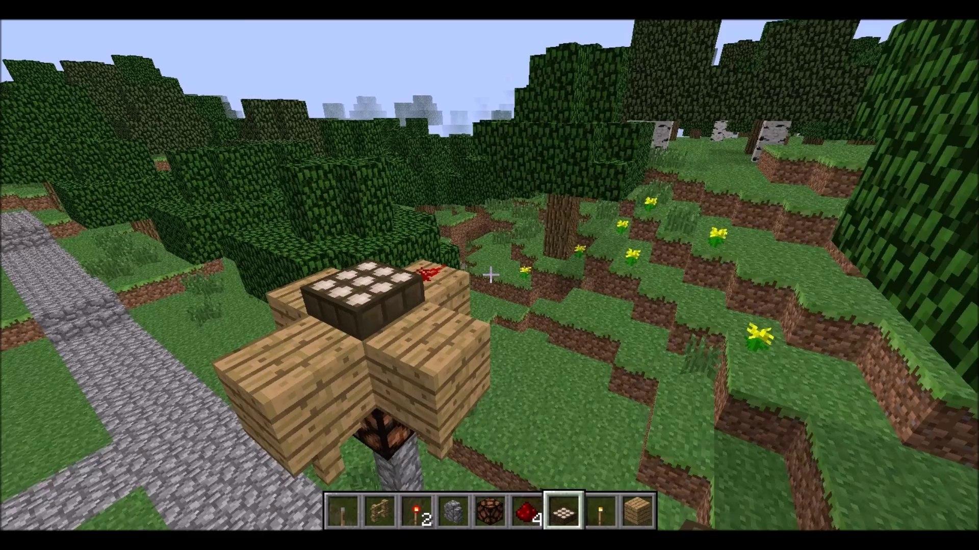 Tuto La Lampe à Redstone Qui Sallume Seulement La Nuit Minecraft