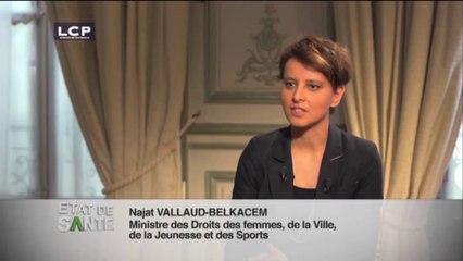 Najat Vallaud-Belkacem invitée d'État de santé: IVG, un droit en danger? (extraits)