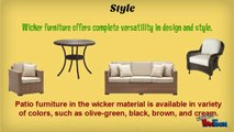 Benefits of Buying Wicker Patio Furniture