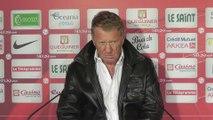 Lens - Brest : Alex Dupont en conférence de presse d'avant-match