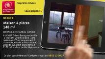 A vendre - maison - BRIENNE LE CHATEAU (10500) - 4 pièces - 148m²