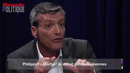 """Martin à Philippot : """"Vous êtes l'homme du slogan"""""""