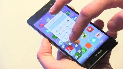 Huawei Ascend P7, premieres impressions en vidéo