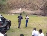 Loucademia de polícia? Bomba explode no meio de treinamento e assusta recrutas
