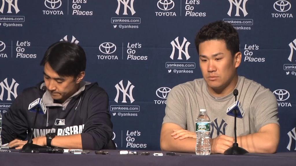 BASEBALL: MLB: Girardi hails Tanaka after Yankees win