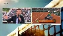 Roland-Garros : Riner lance une balle sur le court et s'explique