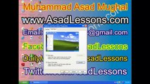 Introduction of Windows XP Start Menu In Urdu and Hindi Part 2 of 2 Lesson No 5