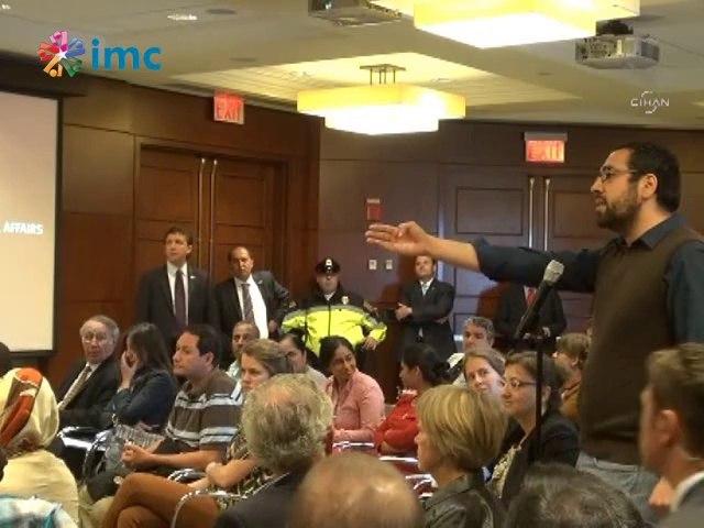 Abdullah Gül'e Harvard'da sorulan sorunun videosu