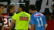 Unbelievable Heinze red card | Argentine Primera Division | 27-10-12