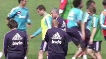 Real Madrid training session | Ronaldo, Kaka, Modric, Benzema, Alonso