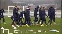 Tottenham v Lyon - Gareth Bale, Lewis Holtby, Arron Lennon and Spurs team training | Europa League