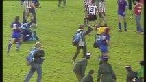 Violent tackles & fighting - Maradona travels to Barca for Athletic Bilbao v Barcelona - /football