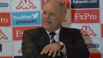 Fulham v Man City 1-2 | Martin Jol post match Interview /football