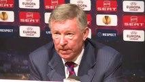 Manchester United 1-2 Ajax - Hernandez goal, Jones, Smalling return - Ferguson