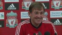 Aston Villa v Liverpool - Kenny Dalglish on Luis Suarez's hearing   English Premier League